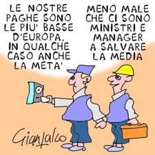 Discriminatorio taglio stipendi a manager pubblici ma non lasciare a secco gli italiani