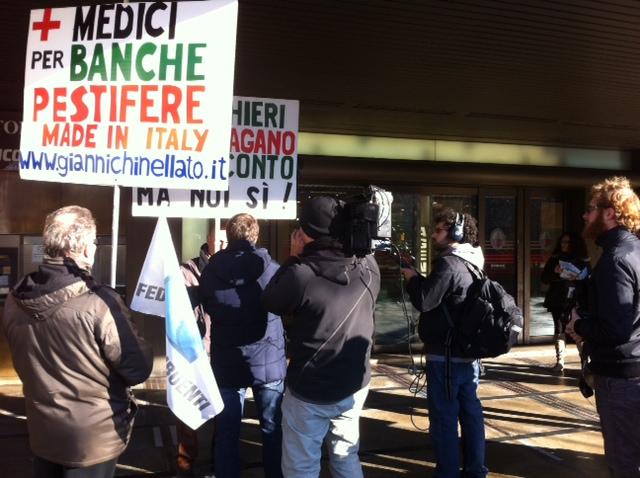 federcontribuenti protesta padova