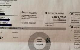 Utenza domestica. A Pompei  L'Enel invia bolletta da 2,800 euro e Federcontribuenti pensa alla procura