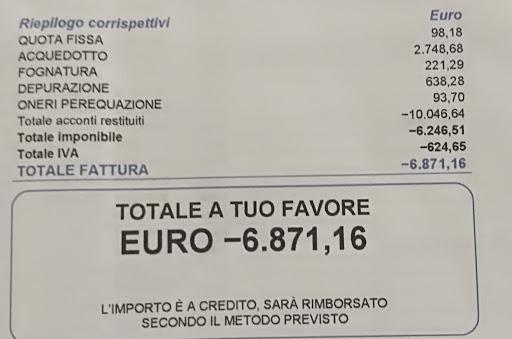 Rimborsi dei canoni di depurazione, i consumatori hanno diritto fino a 1.000 euro.